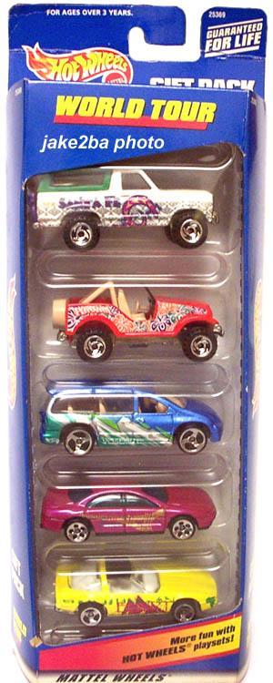 5 Packs 2000 Hot Wheels