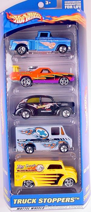 5 Packs 2001 Hot Wheels