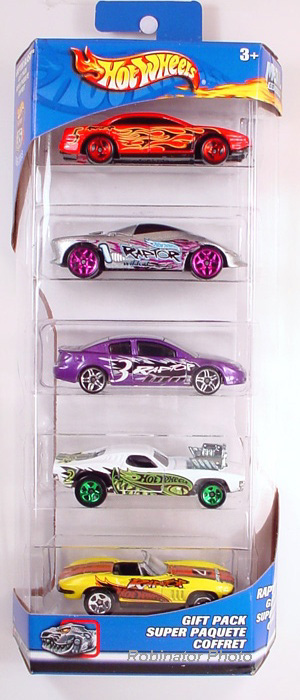 5 Packs 2003 Hot Wheels