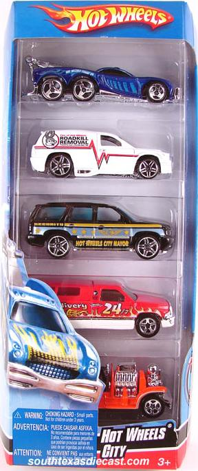 Ford Shelby Truck >> 5-Packs 2007 - Hot Wheels