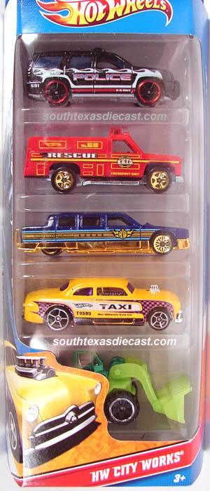 Dodge Challenger Convertible >> 5-Pack 2011 - Hot Wheels
