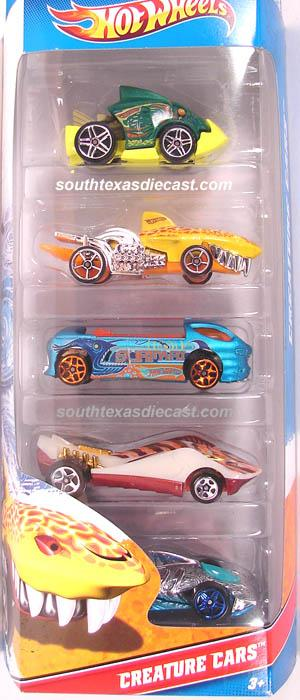 Jump Box For Cars >> 5-Pack 2011 - Hot Wheels