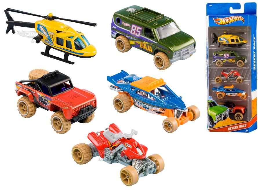 5 Pack 2011 Hot Wheels