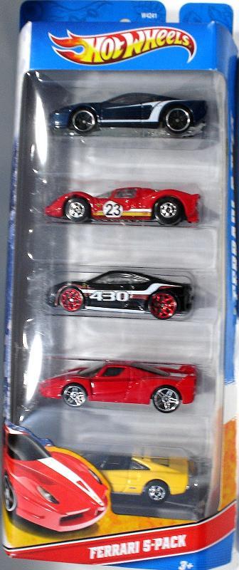 5-Pack 2012 - Hot Wheels