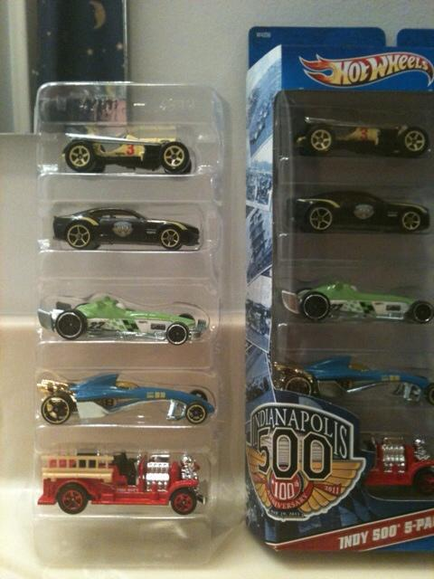 5 Pack 2012 Hot Wheels