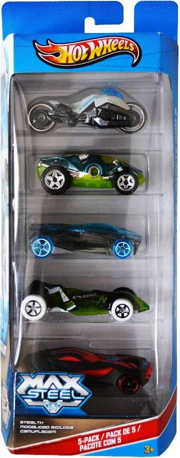 5 Pack 2013 Hot Wheels