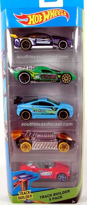 5 Pack 2014 Hot Wheels