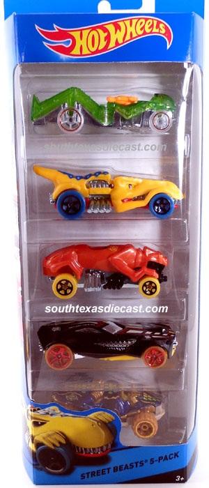 5-Pack 2014 - Hot Wheels
