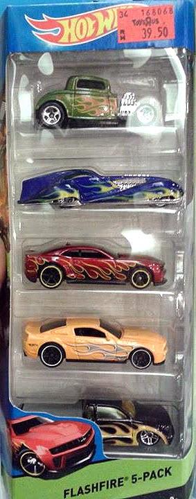 5 Pack 2015 Hot Wheels