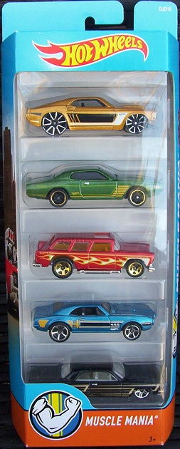 5 Pack 2016 Hot Wheels