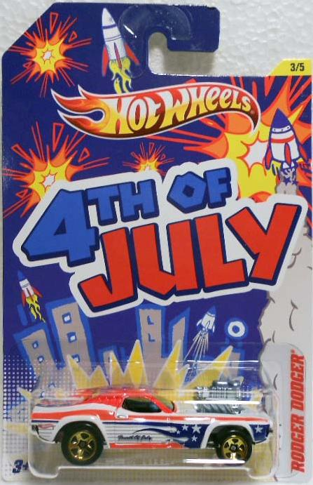 hot wheels  fourth july