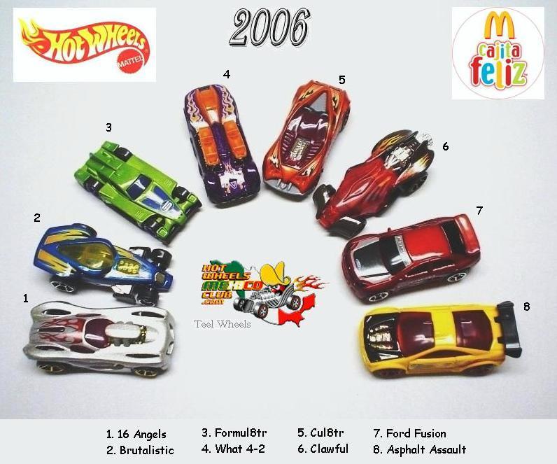 Hot Wheels Mcdonaldsl 2006