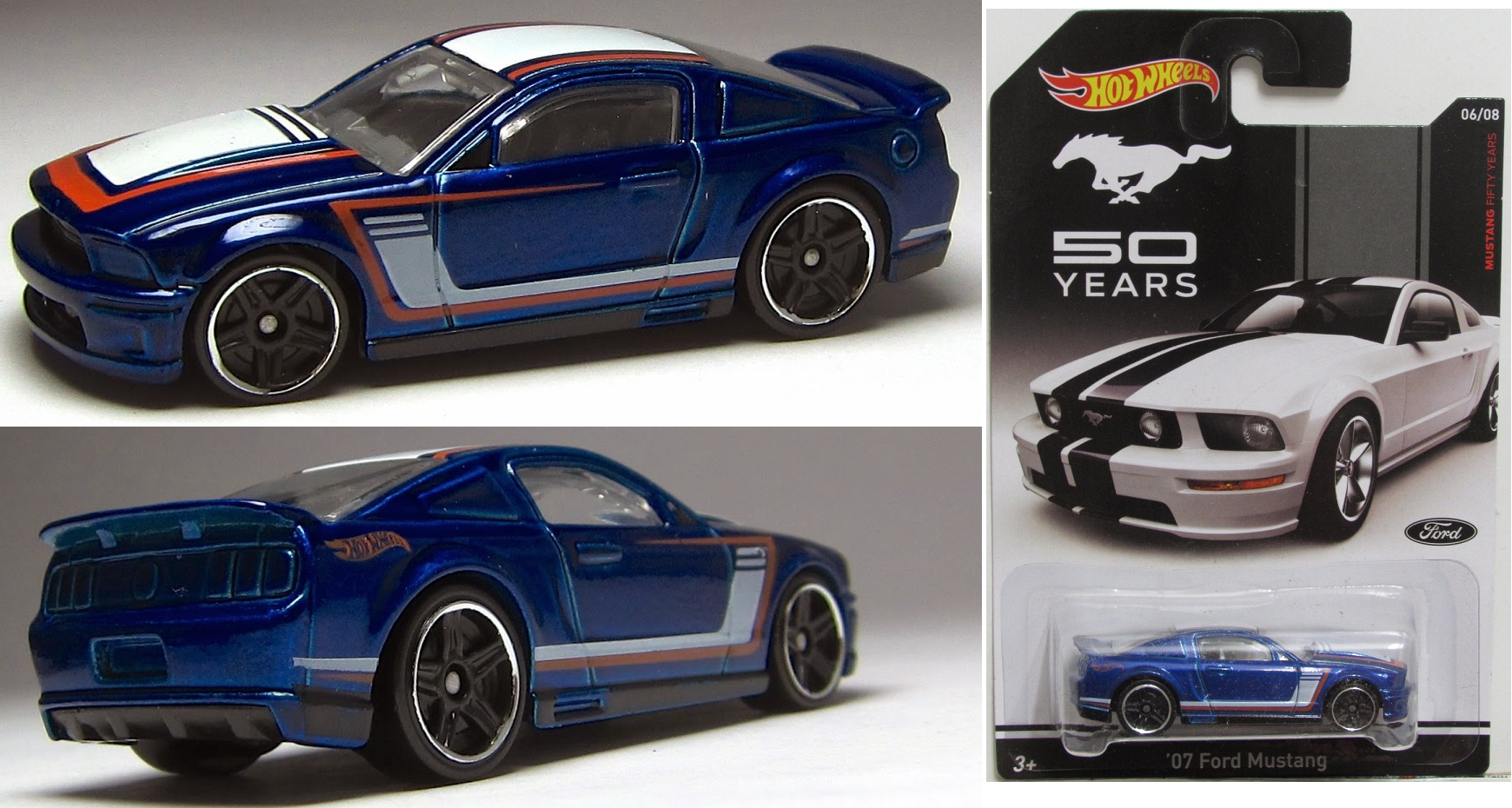 Mustang 50 Years Hot Wheels