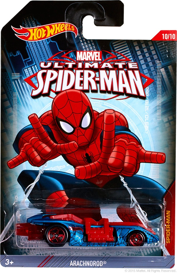 Spider Man - Hot Wheels