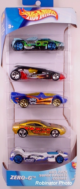 5 Packs 2004 Hot Wheels