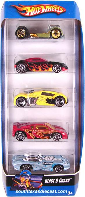 Dodge Challenger Convertible >> 5-Packs 2007 - Hot Wheels