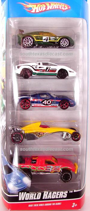 Ford Shelby Truck >> 5-Pack 2009 - Hot Wheels