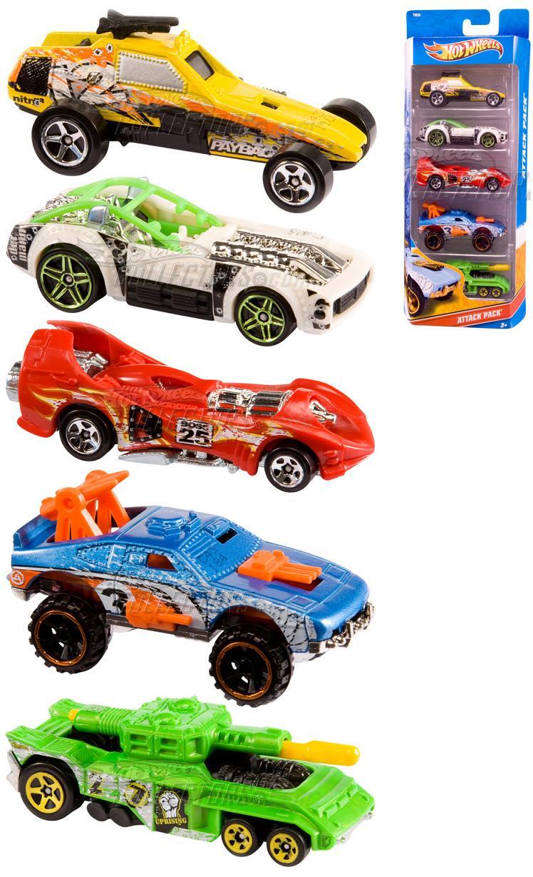 Toyota Of The Desert >> 5-Pack 2011 - Hot Wheels