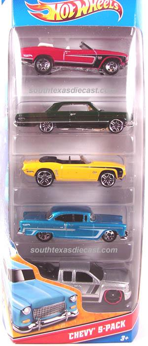 Dodge Challenger Convertible >> 5-Pack 2011 - Hot Wheels