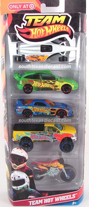 5 Pack 2012 Hot Wheels