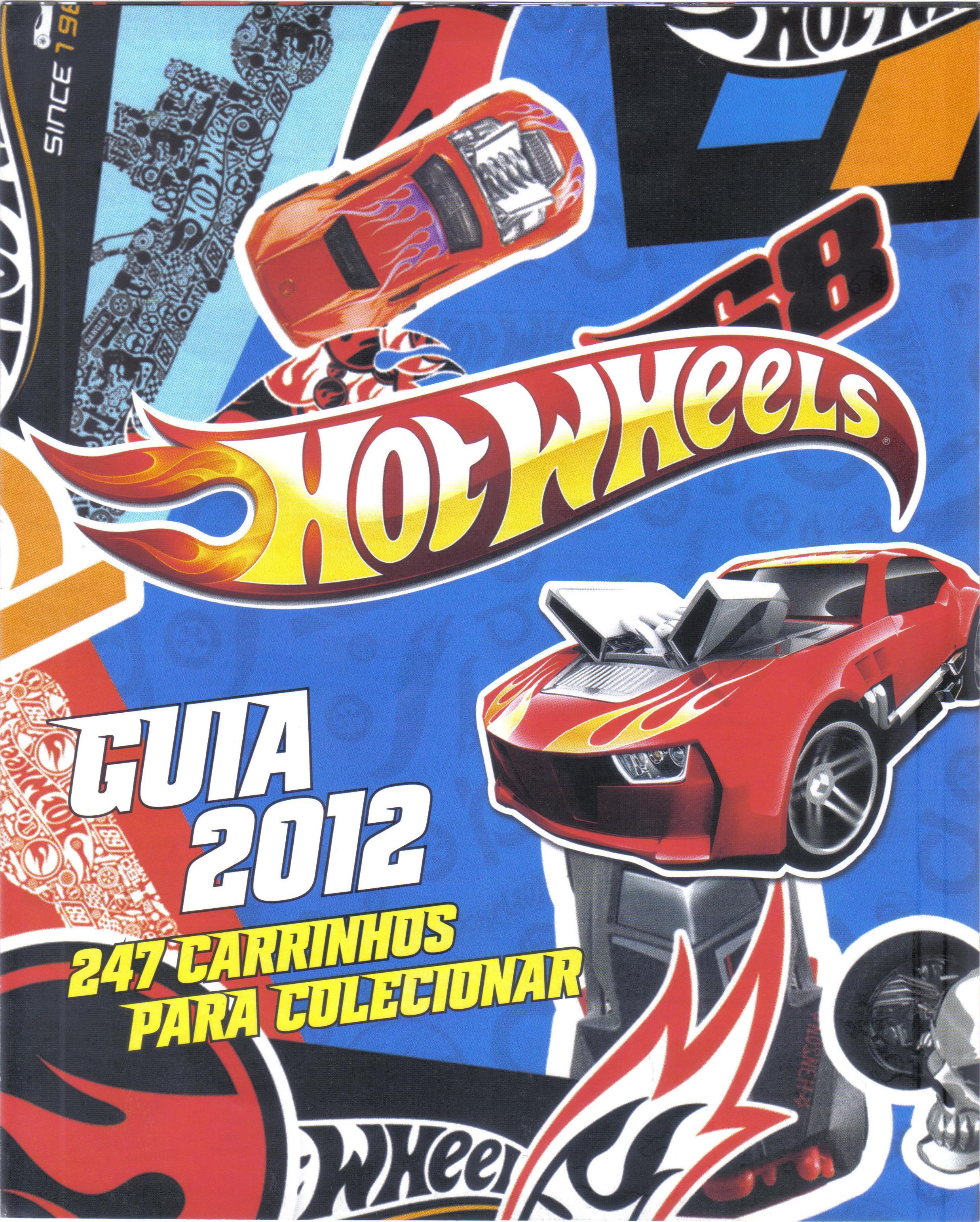 Poster 2012 Hot Wheels