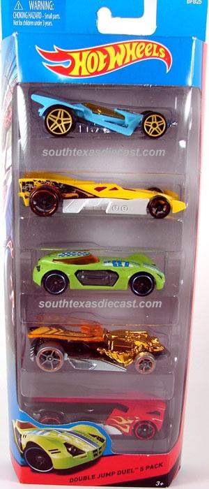 5 Pack 2014 Hot Wheels