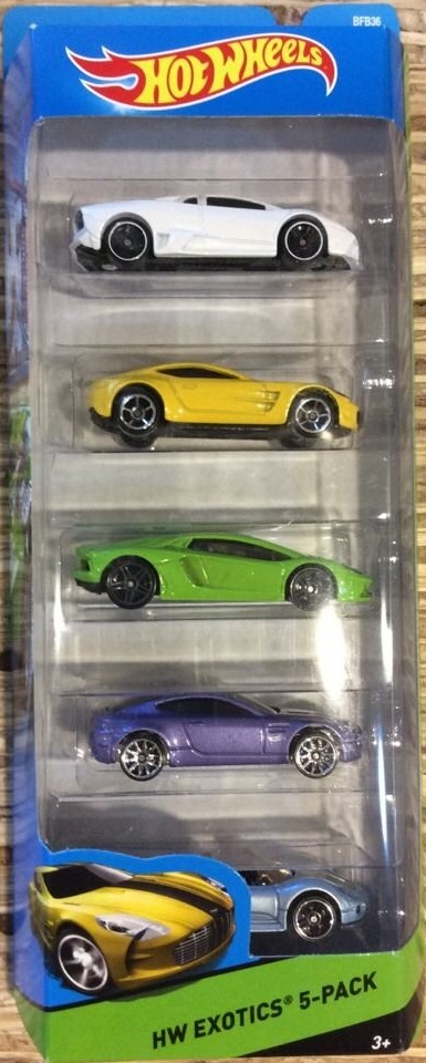 5-Pack 2014 - Hot Wheels