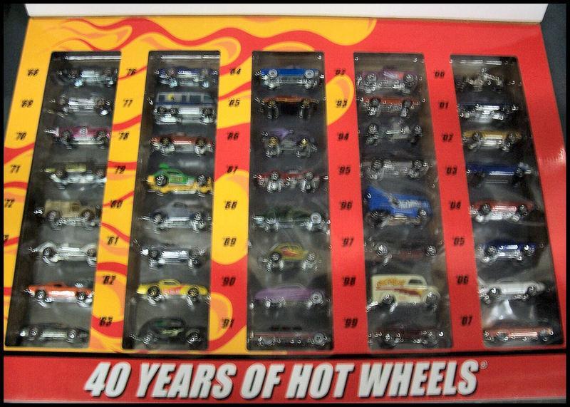 Hot Wheels 40 Years 2008 40 Car Set